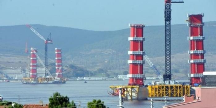 Tamamlandığında eşsiz olacak... 1915 Çanakkale Köprüsü hızla yükseliyor