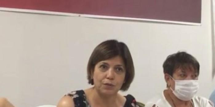 Terör sevici HDP'nin vekili aşı olmamayı AK Parti'ye bağladı