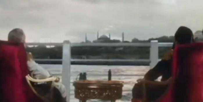 TRT'nin dizisinden bomba Ayasofya detayı