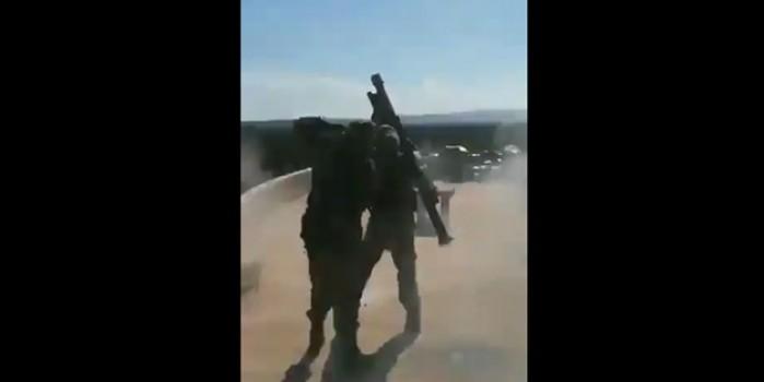 Türk askeri Esed'in helikopterini böyle vurdu