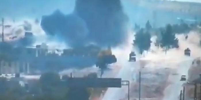 Türk-Rus devriyesine bombalı saldırı! Yaralılar var