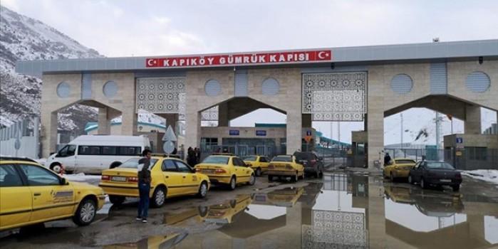 Türkiye ile İran arasındaki kara sınır kapıları kapatıldı