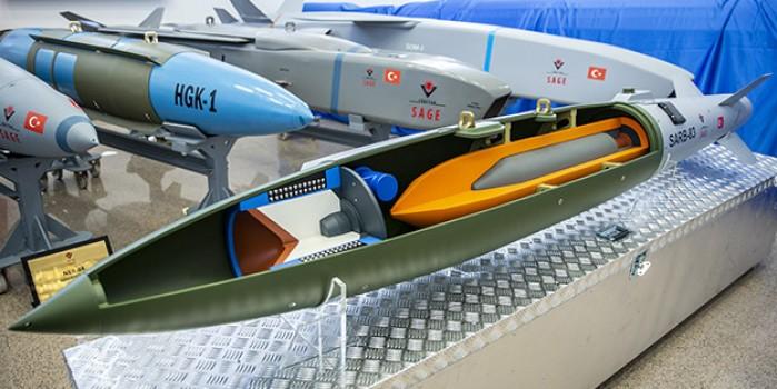 Türkiye'den dünya harp tarihinde bir ilk! Öz kaynaklarla üretilen SARB-83 göreve hazır