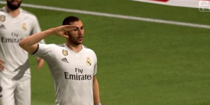 UEFA soruşturma başlatmıştı! FIFA oyununda 'asker selamı' sürprizi