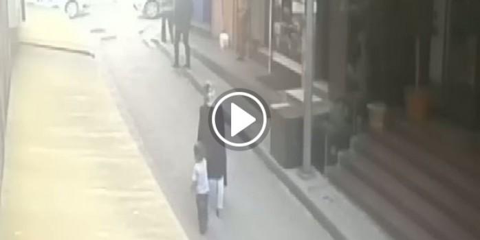 Vahşi cinayet kamerada