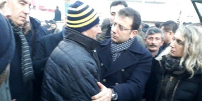 Vatandaşın deprem bölgesine gelen İmamoğlu'na sözleri ziyarete damga vurdu!