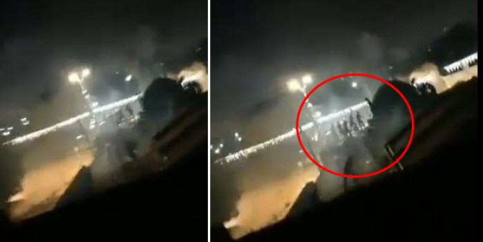 Yahudiler Ulu Camii'ye saldırdı Filistinli gençler cansiperane direniyor!
