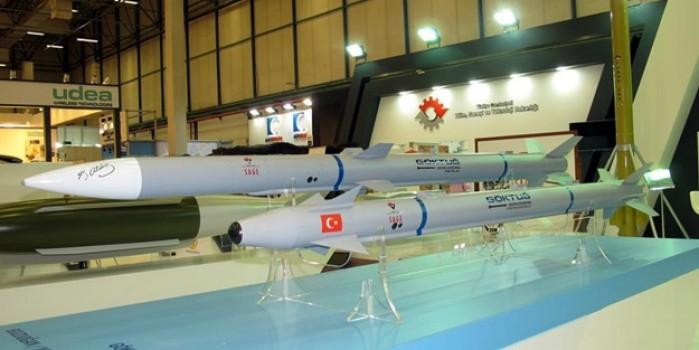 Yerli ve milli füzemiz Gökdoğan testleri başarıyla geçti
