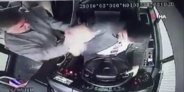 Yine Belediye otobüsü, yine şoföre saldırı